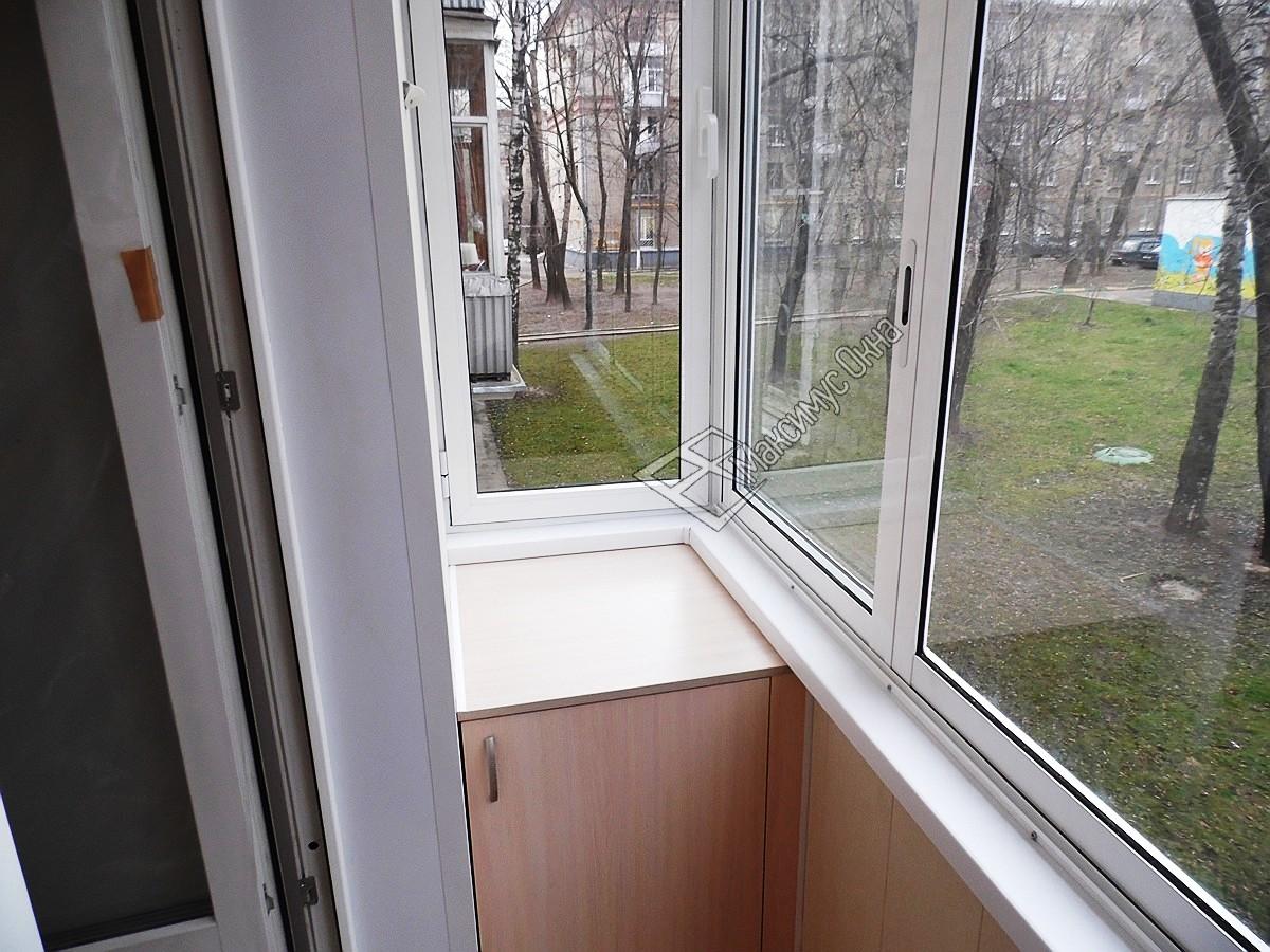 Балкон в хрущевке фото