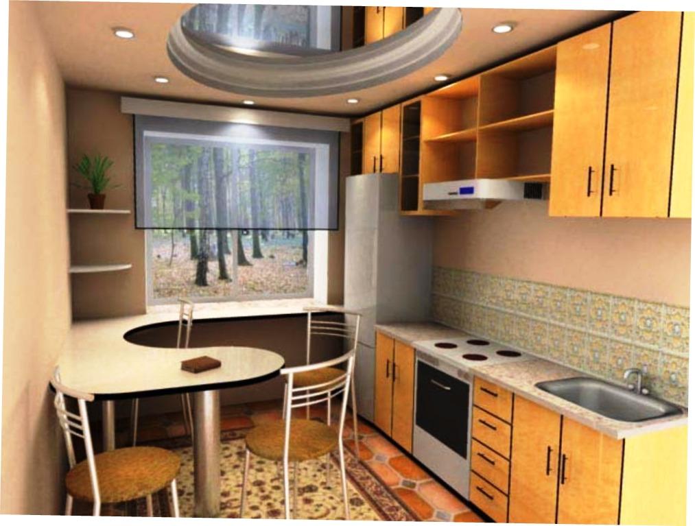 Дизайн кухни 8 кв.метров фото