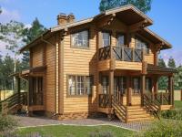 Строительство деревянного дома под ключ