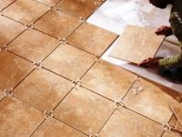 Правильная укладка напольной плитки