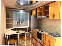 Ремонт кухни 6 м