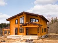 Новый дом из клееного бруса